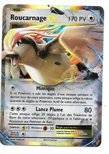 1 Carte Pokemon  Roucarnage EX PV 170  Ultra Rare (64/108) XY 12 Evolutions