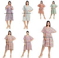 Vente en Gros Vrac Lot De 5 Pièce Caftan Court Kimono Coton Sexy Nuit Robe