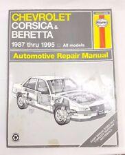 Chevrolet Corsica and Beretta 1987-1995 Haynes Repair Manual
