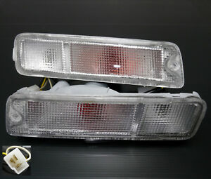 Mitsubishi Triton MK L200 pickup clear front bumper indicators bumper bar light