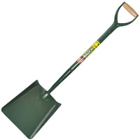 Bulldog 5SM2AM all steel square mouth contractors shovel MYD handle