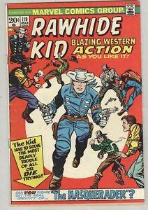 Rawhide Kid #119 March 1974 G/VG