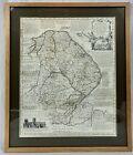 LINCOLNSHIRE MAP BY EMANUEL BOWEN, C1777, Original, Antique, Wapontake Divided