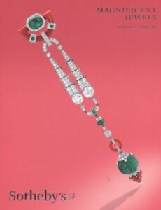 Sotheby's New York, Catalogue Magnificent Jewels 17 April 2019  HB