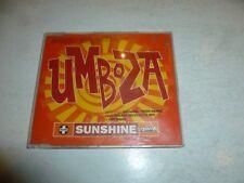 UMBOZA - Sunshine - 1996 UK limited edition 4-mix CD single
