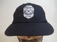 Yale New Haven Officer Hat IH-2164 Black Baseball Hat Cap Strapback