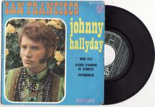 EP  JOHNNY HALLYDAY-SAN FRANCISCO-Philips-FRENCH