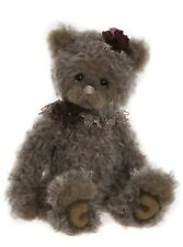 """Opera Mohair Teddy Bear by Charlie Bears - 12"""" SJ5922"""