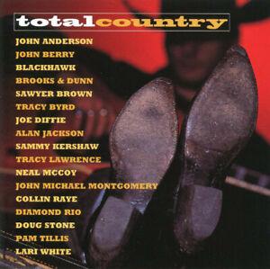 MINT Original CD Various – Total Country 1998 Alan Jackson Brooks & Dunn