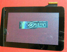"""VETRO+ TOUCH SCREEN per TABLET ACER B1-710 A71 A710 7"""" NERO DISPLAY VETRO ICONIA"""