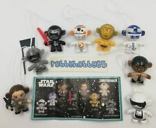 STAR WARS TWISTHEADS COMPLETE SET OF 8 WITH ALL PAPERS KINDER SURPRISE 2018