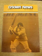 15/05/1979 Cricket News: Vol.03 No.03 - A Weekly Review Of The Game, Cover Image