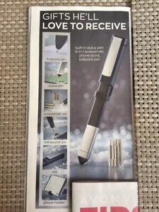 AVON Mens Tech Pen.  Brand new. Christmas Idea/Gift For Him. Stocking Filler.