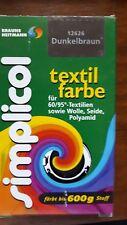 Simplicol Textilfarbe Dunkelbraun 25g