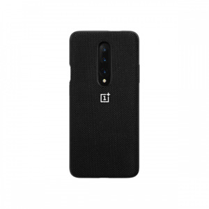 Official Original OnePlus 7 Nylon Bumper Case + 3D Tempered Glass Protector