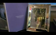 Vera Wang Wedgwood With Love 8 by 10 Photo Picture Frame - Silver - New