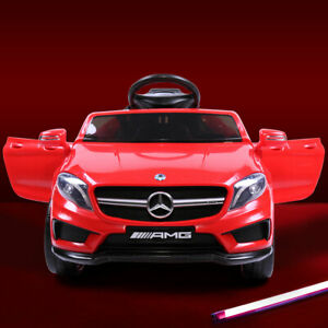 Kids Ride On Car Mercedes-Benz Licensed Electric Toy w/ Control Carry Handle MP3