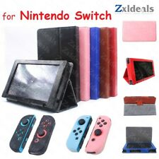 Standing Case for Nintendo Switch Flip Protection 2 in 1 and Silicon JoyCon Skin
