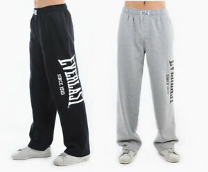 EVERLAST MENS GYM PANTS TRACKSUIT SPORTS JOGGING BOTTOMS SLIM FIT Open h S-XXL
