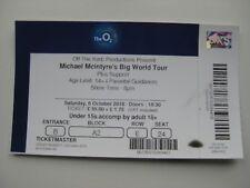 MICHAEL MCINTYRE  O2 LONDON  06/10/2018  TICKET