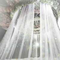 Elegant 10M Wedding Backdrop Gauze Curtain Organza Wedding Party Venus Decor DIY