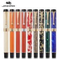 Jinhao 100 Centennial Acrylic Fountain Pen Fine Nib F/0.5mm Students Writing #ju