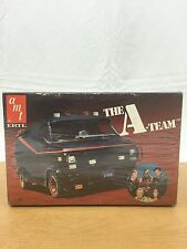 Factory Sealed Never Opened A Team GMC Van  Vintage 80's AMT 1:25 Model Kit