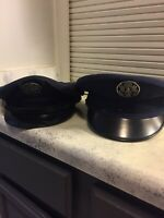 Lot Of 2 WW2 Era Air Force Military Hats Size 7 1/4 Good Condition