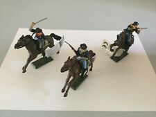 Britains Plastic Mounted 7th Cavalry Set of 6 (From Box 17855)