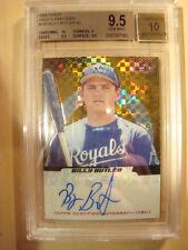 2005 Billy Butler Finest Autograph Gold Xfractor #148 #03/10  BGS 9.5  Auto