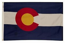 4x6 ft COLORADO The Centennial State OFFICIAL FLAG Outdoor Nylon Made in USA