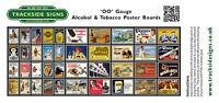 Model Railway Poster / Advert Sheet Packs - Lots to choose from - OO Gauge 4mm