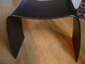 """M"" Stool JORGEN MOLLER for Askman Furn. Danish Modern Mid-Century w/Label   N/R"