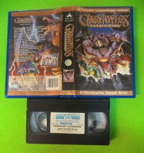 VHS film GARGOYLES La leggenda 1996 animazione BUENA VISTA VS 4608*(F172)*no dvd