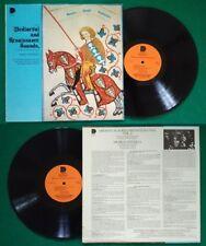 LP 33 Giri MEDIAEVAL RENAISSANCE SOUNDS VOL.6  Musica Antiqua Alison Pearce