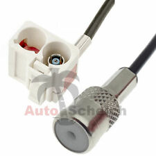 Adaptador de antena cable para Audi RNS-E FAKRA 2 x ISO VW Seat Skoda Radio Navi