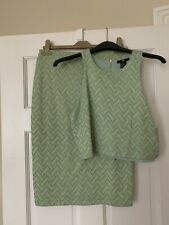 H&M Verde Glitter Co-Ord Set S/M