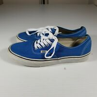 Vans Authentic Shoes Mens US 9 Blue New Laces