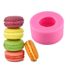 3D Macaroon Silicone Mould Chocolate Cake Decor Bake Icing Fondant Mold