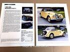 Morgan Plus Four 4 Original Car Review Print Article J669 1963 1964 1965 1966