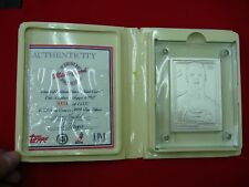 ERIC LINDROS 1993 SILVER HIGHLAND MINT (1992 TOPPS #529) MINT CARD (0538) ~WOW~