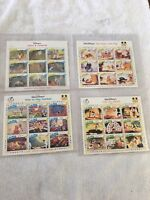 Disney's Assorted International Collectors Society Stamps - Stunning Stamps