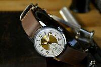 Vostok Sputnik mens wrist watch Gift for men's 1950s Chistopol USSR RARE Vintage