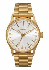 Nixon Sentry 38 SS , 38 mm,All Gold / White Sunray, A450-2443