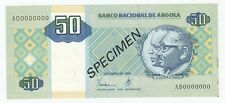 Angola 50 Kwanzas 1999 SPECIMEN P# 146s AUNC/UNC (e267)