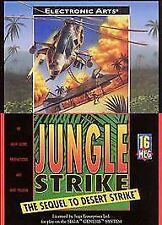 Jungle Strike (Sega Genesis, 1993)CARTRIDGE ONLY