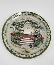 "Glenna Kurz Bradex Welcome Home ""Cherish Your Family"" Plate #1567C"