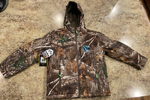 NEW Youth Realtree Insulated Waterproof Windproof Parka Jacket Size XL  (14/16)