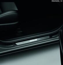 Genuine Toyota RAV4 Illuminated Scuff Plates Door Sills Protection PZD640R030