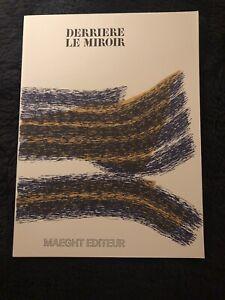 Derriere Le Miroir 195 December 1971 Calder Miro Tapies Maeght Editeur Complete